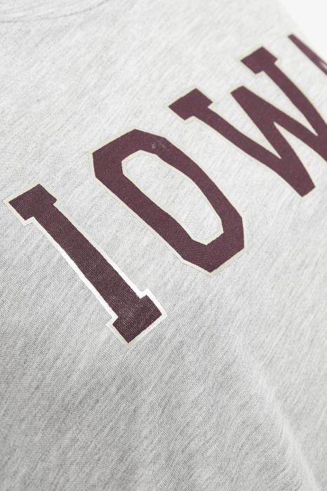 kaffe iowa t-shirt detail