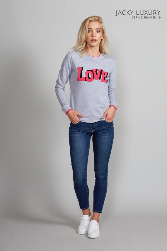jacky luxury sweater love