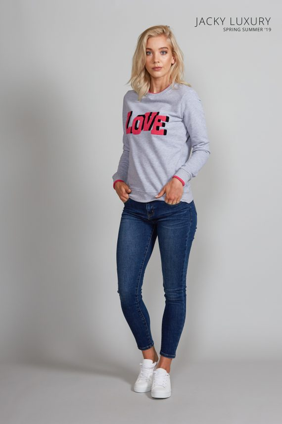jacky luxury sweater love 1