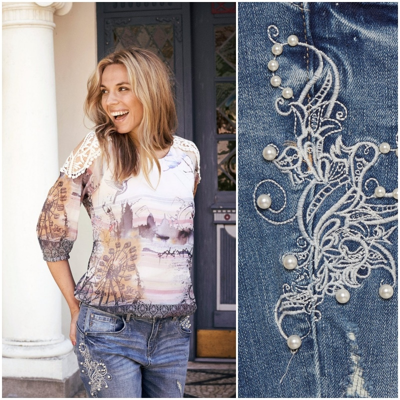 collage jeans cara