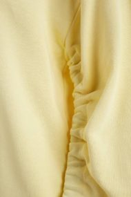 purewhite-womans-wrinkled-sleeve-sweater-yellow-3